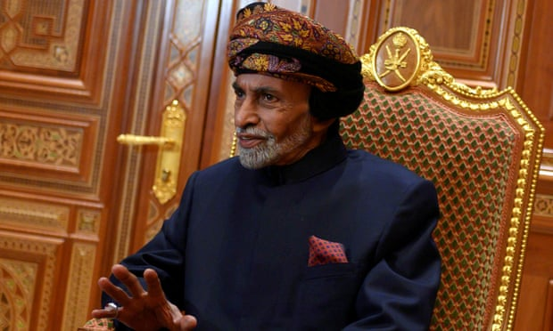 Sultan Qaboos bin Said has acted as an honest broker among nations in the Middle East and beyond. Photograph: Reuters